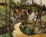 Paul Cezanne paintings, Reproduction of A Turn in the Road 1881