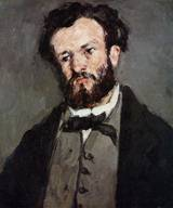Paul Cezanne paintings, Reproduction of Anthony Valabregue 1871
