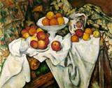 Paul Cezanne paintings artwork, Apples and Oranges 1899