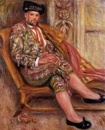 Renoir paintings Ambroise Vollard Dressed as a Toreador 1917