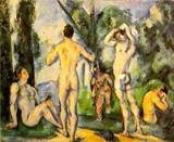 Paul Cezanne paintings, Reproduction of Bathers 1890 1891