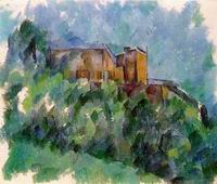 Paul Cezanne paintings artwork, Chateau Noir 1901 1906