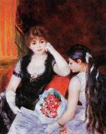 Pierre-Auguste Renoir At the Concert (aka Box at the Opera) 1880