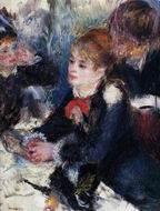 Pierre-Auguste Renoir paintings artwork At the Milliner's 1878