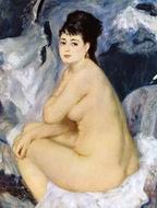 Reproduction of Pierre-Auguste Renoir paintings Bather1 1887