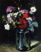 Reproduction of Flowers in a Vase 1872 1873
