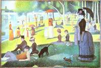 Reproduction of A Sunday On La Grande Jatte 1884-86