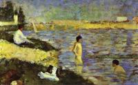Reproduction of Bathing Boys (Study For Bathers At Asnieres) 188