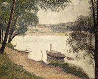Reproduction of Gray Weather Grande Jatte ca. 1888