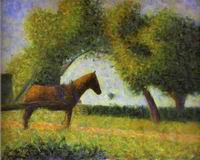 Reproduction of Horse In A Field 1882