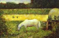 Reproduction of Landscape With A Horse 1882