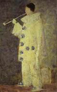 Reproduction of Pierrot With A White Pipe (Aman Jean) 1883