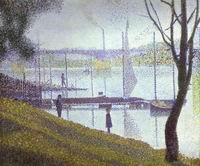 Reproduction of The Bridge At Courbevoie 1886-67