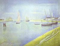 Reproduction of The Channel Of Gravelines The Direction To The S