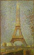Reproduction of The Eiffel Tower 1889