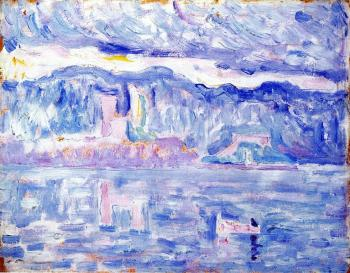 Paul Signac paintings artwork, Antibes (study)