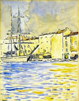 Reproductions of Paul Signac's painting,The Brig
