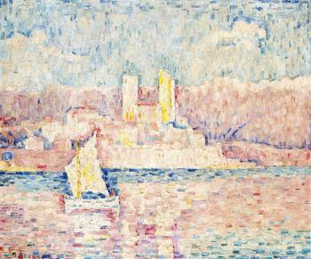 Reproductions of Paul Signac paintings, Cap d'Antibes