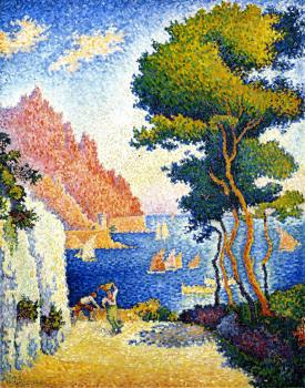 Reproductions of Paul Signac paintings,Capo de Noli