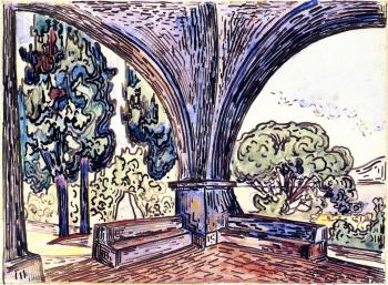 Reproductions of Paul Signac paintings, The Chapel of Sainte-An