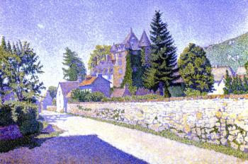 Reproductions of Paul Signac paintings, Complat-le-Chateau. The