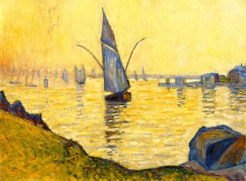 Reproductions of Paul Signac paintings, Concarneau (study)