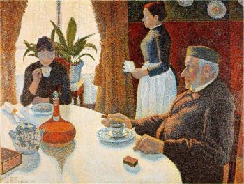 Reproductions of Paul Signac paintings, The Dining Room