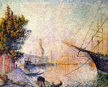 Reproductions of Paul Signac paintings, The Dogana
