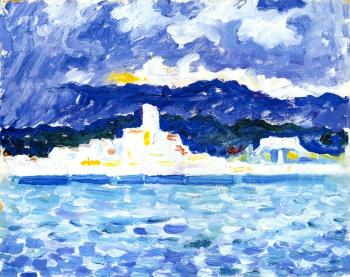 Reproductions of Paul Signac paintings, East Wind, Antibes