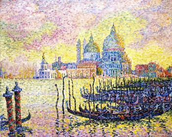 Reproductions of Paul Signac paintings, Grand Canal, Venice