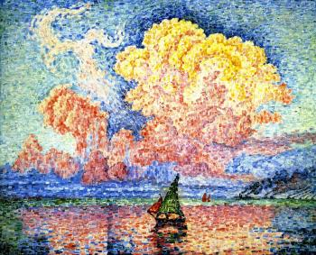 Reproductions of Paul Signac's painting, The Pink Cloud, Antibes