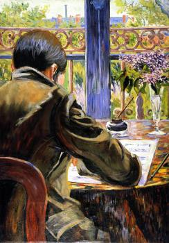 Paul Signac paintings artwork, Asnieres Study