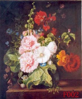 Still Life, Handmade oil painting on Canvas:still life F002