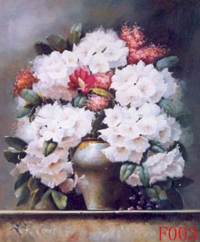 Still Life, Handmade oil painting on Canvas:still life F003