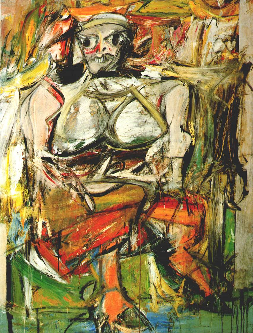 Willem de Kooning paintings Woman 2 Reproductions of paintings