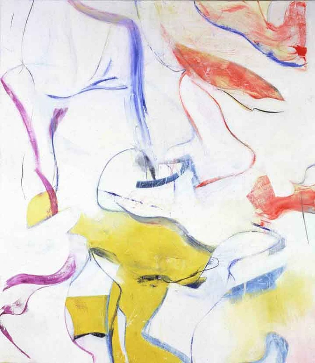 Willem de Kooning painting The springs Reproduction of paintings