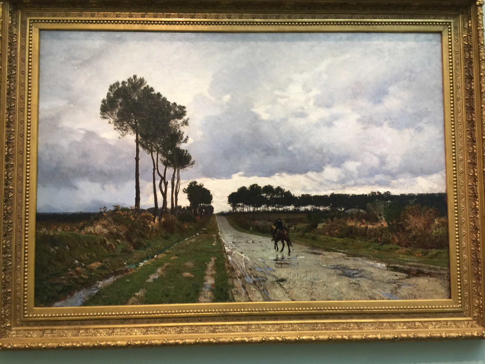 Reproductions of William Lamb Picknell A Winter Day in Brittany