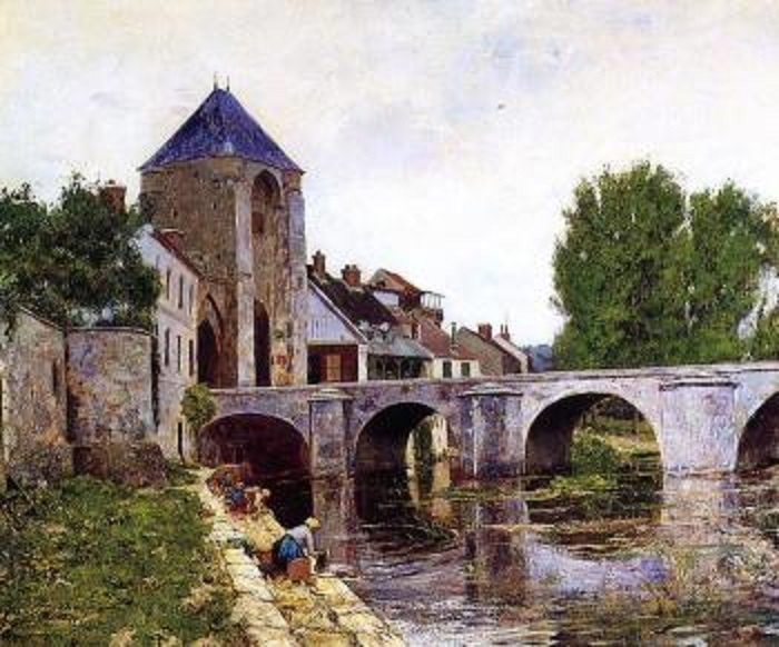 Reproductions of William Lamb Picknell Jour gris Moret