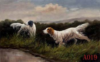 Animals, Handmade oil painting on Canvas:A0019