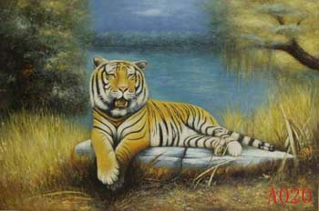 Animals, Handmade oil painting on Canvas:A0020