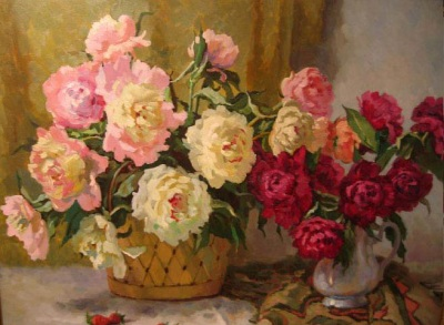 Reproductions of Balakshin's arts for sale,Flowers