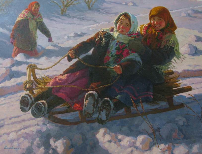 Reproductions of Balakshin's fine art for sale