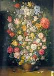 Classical Flower Oil Painting on Canvas, Fine art