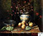 Handmade oil painting on Canvas, Fruit, Fine art.