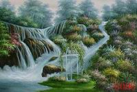 Landscape, Handmade oil painting on Canvas:004