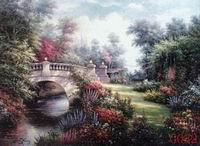 Landscape, Handmade oil painting on Canvas:G0030