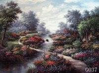 Landscape, Handmade oil painting on Canvas:G0036