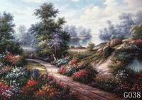Landscape, Handmade oil painting on Canvas:G0037