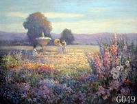 Landscape, Handmade oil painting on Canvas:G0047