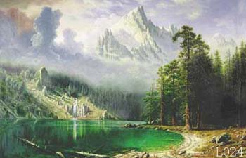 Landscape, Handmade oil painting on Canvas:L0024